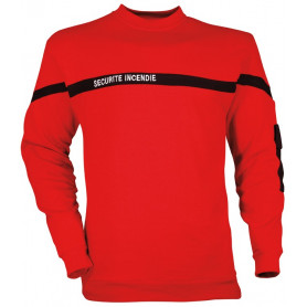 Sweat-shirt sécurité incendie 1571 - CITY GUARD