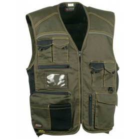 Gilet sans manches multipoches Expert - COFRA