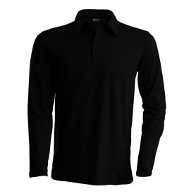 Polo homme manches longues Kariban K243