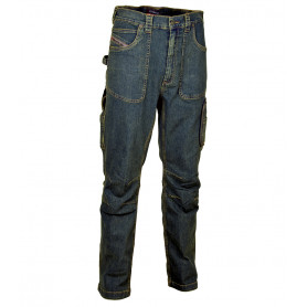Jeans de travail multipoches Barcelona 330g - COFRA