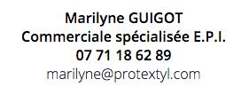 Marilyne Guigot Spécialiste EPI